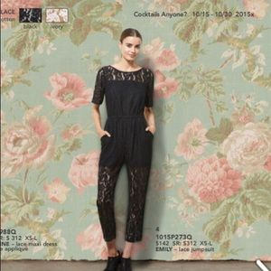 Corey Lynn Calter Emily Jumpsuit in Lace NWT